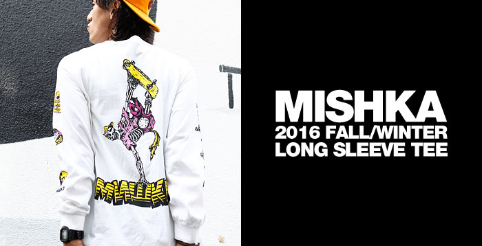 MISHKA LONG SLEEVE TEE